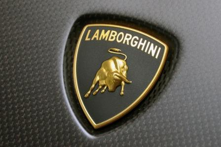 Lamborghini Logo on Car