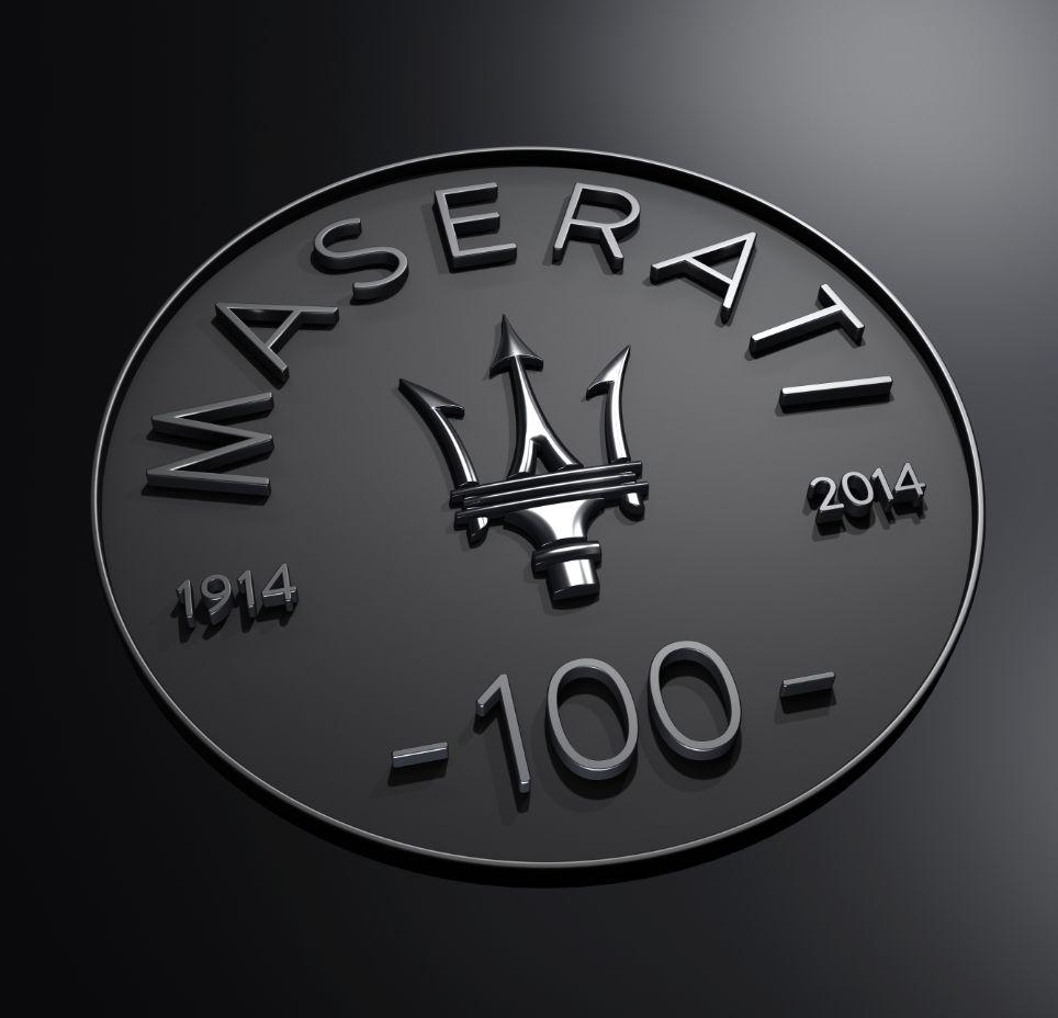 Maserati Logo 2014